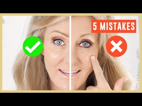 5 Biggest Makeup Mistakes On Mature Eyes Tutorial Over 50 Fabulous50s