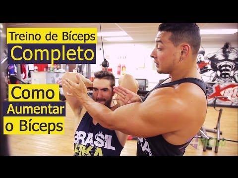 Treino de Bíceps Completo Como aumentar o Bíceps
