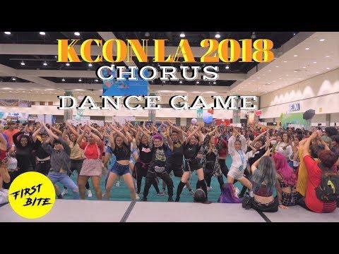 [KCON 2018] 40 Kpop Dances in 30 Minutes (Chorus Dance Game)