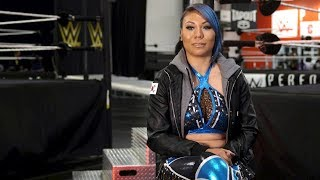 Mia Yim is ready to achieve her dream inside a WWE ring