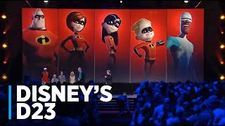 THE INCREDIBLES 2 Presentation at Disney