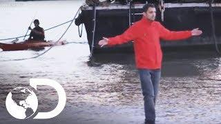 Caminar sobre el agua | Dynamo: Magia imposible l Discovery Latinoamérica