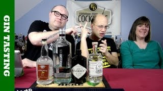 Common Man Gin Tasting, The Results