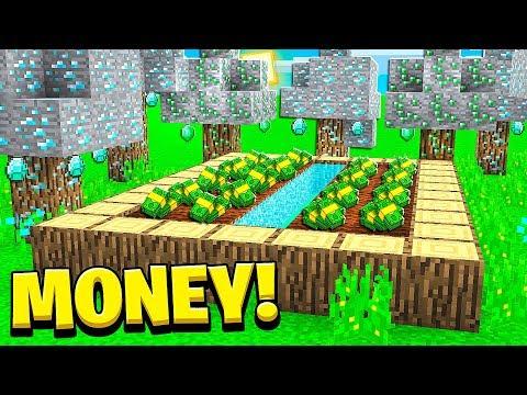 Starting My Infinite Minecraft Money Farm!