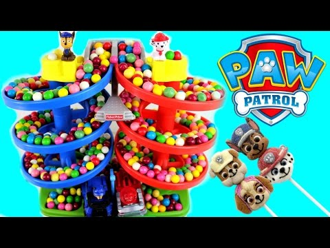 Paw Patrol Best Baby Toy Learning Colors Video Gumballs Cars for Kids Teach Toddlers Preschool