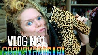 SO YOU THINK YOU CAN VLOG?   VLOG #1   GRAV3YARDGIRL