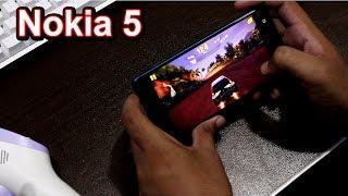 Nokia 5 Gaming   I am surprised !!