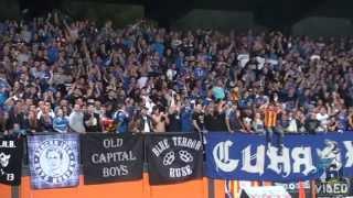 Сините разтресоха ловешката трибуна 04.10.2015 (Levski Sofia away at Lovech)