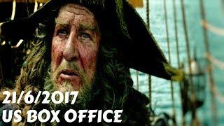US Box Office (21/6/2017) أفلام البوكس أوفيس