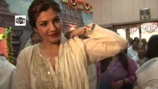 Raveena Tandon At Shivratri Mahotsava  12 Jyotirlingam Darshan Celebration With Celebs 1