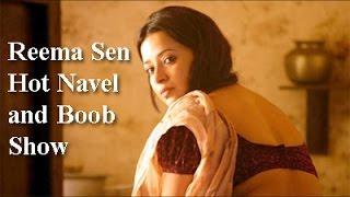 Reema Sen Hot Navel and Bo0b Show video - LATEST 2016