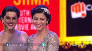 Micromax Siima 2015 | Best Actress Telugu | Shruti Haasan | Race Gurram