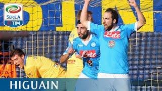 Il gol di Higuain (30') - Frosinone - Napoli - 1-5 - Giornata 19 - Serie A TIM 2015/16
