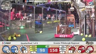 Quarterfinal 7 - 2017 Greater Pittsburgh Regional