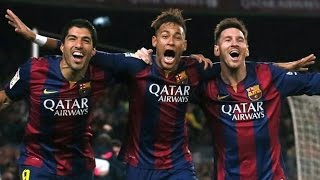 Messi Suarez Neymar Top 20 Goals ● Barcelona's MSN 2014/2015 ● The Best Trio in Football History