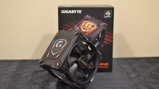 GIGABYTE XTC700 Gaming CPU Cooler (unboxing, installation, benchmark) [EN]