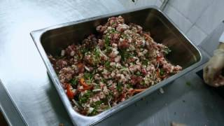 How to prepare kebabs  طريقة تحضير الكباب