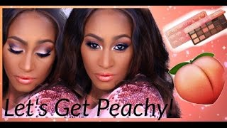 🍑 Let's Get PEACHY! TOO Faced Sweet Peach Palette| Thoughts and Full MakeupTutorial 🍑   | Shlinda1