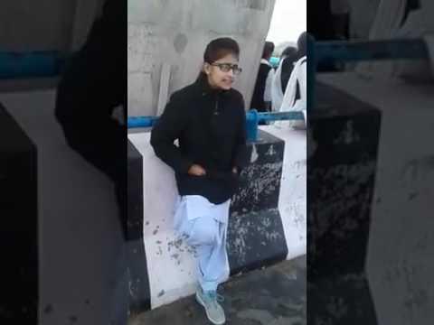 Punjabi song singing desi girl.