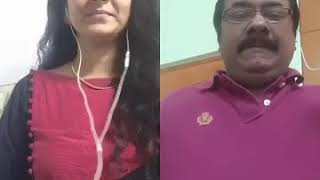 ramya duraiswamy the best on smule . an honour to join the song indeed..