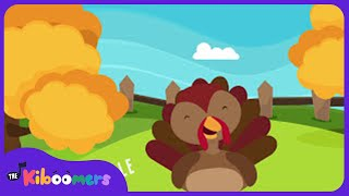 Turkey Song | Thanksgiving Songs for Children | A Turkey Is A Silly Bird