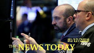 News Today 01/17/2018 | Donald Trump | Wall Street Opens Higher As Tech Stocks Gain