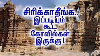 தயவுசெஞ்சு  சிரிக்காதீங்க! இப்படி கோவில் கட்டினதும் நாமதான்! | Crazy Temples In India!