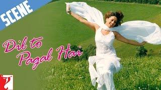 Scene: Dil To Pagal Hai | Maya Ek Aise ladki Hai | Shah Rukh Khan | Madhuri Dixit | Karisma Kapoor