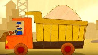 Car Cartoons for children. Car Toons Truck.