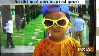 Delhi: 3-year-old Boy Killed after Being Run Over by School Van
