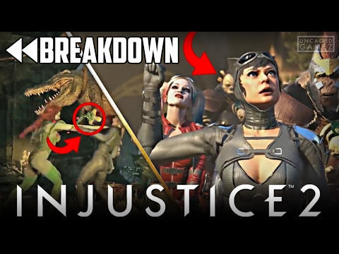 Injustice 2: Here Come The Girls Trailer Full Breakdown!