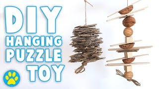DIY Hanging / Puzzle Toy   Small Pets