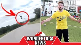 MotoVlogger sofre acidente! As tendências são manipuladas?! VSKI, Ines Rochinha, Mamado, Yammie Noob