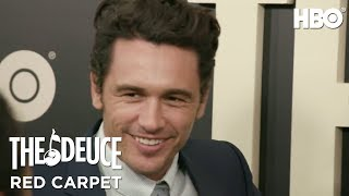 Red Carpet Buzz with James Franco, Maggie Gyllenhaal & More | The Deuce (2017) | HBO