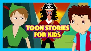 TOON STORIES For Kids - The Christmas Story and The Peter Pan
