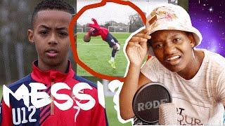Arsenal FC Wonder Kid! Omari Hutchinson | AMAZING Skills Reaction