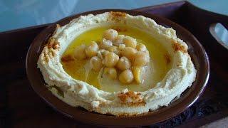 How To Make Hummus - آموزش درست کردن هوموس