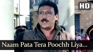 Naam Pata Tera...Main Hero Hoon (HD) - Police Officer Song - Jackie Shroff - Filmigaane