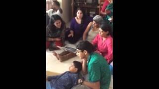 Jan 3  2015 Party chez A. Satyavati Rao