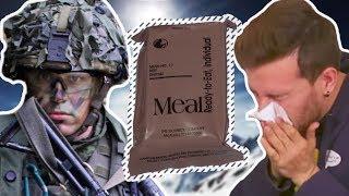 NATO Özel Tim Askerlerinin Yemeklerini Tattık