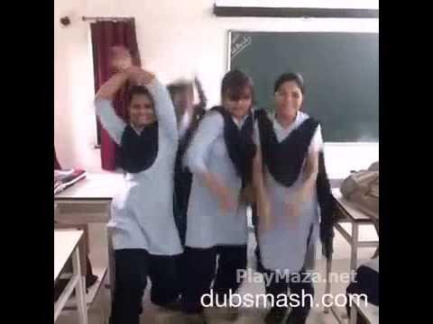 Desi School Girl Dance   Funny PlayMaza net