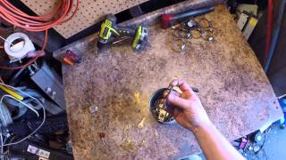 scrapping keys for brass