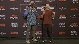 UFC Phoenix: Media Day Faceoffs