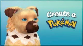 Rockruff #744 | The Sims 4 Create a Pet (CAP) Ep17