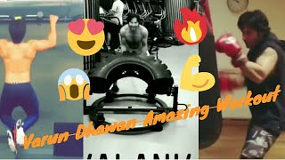 Varun Dhawan Amazing Workout (Unstoppable) 2018