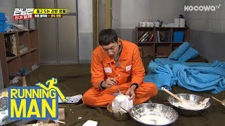 Kwang-soo making tofu [Running Man Ep 387]