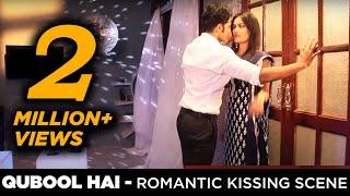 Qubool Hai romance kissing scene | Aahil Gets Jealousof Sanam Behind the Scenes | BTS