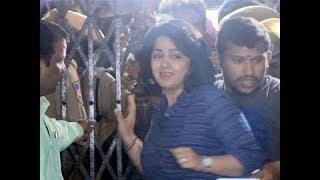 మహిళా బౌన్సర్లతో ఛార్మి హల్ చల్ | Heroine Charmi Attends SIT interrogation On Drugs Case | YOYO TV