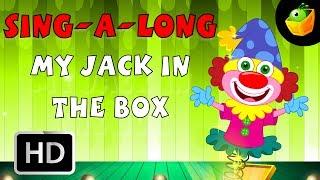 Karaoke: My Jack In The Box - Songs With Lyrics - Cartoon/Animated Rhymes For Kids