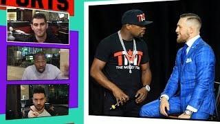 Mayweather/McGregor Fight Attracts a Slew of Big Celebrities   TMZ Sports